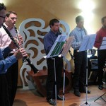 "Les clarinettistes de l''ensemble ""Les Vents d'Anches"" en concert."