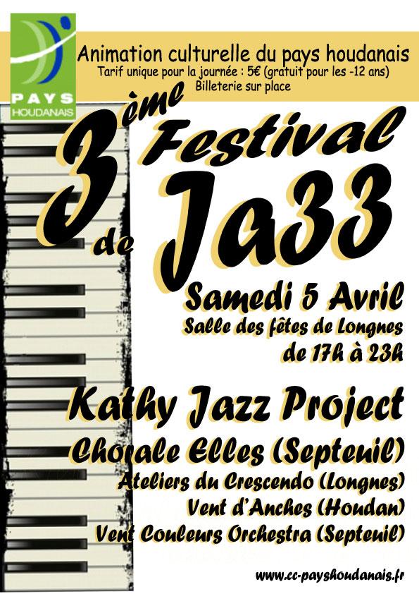 Festival Jazz Longnes 5 avril 2014